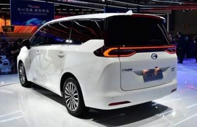 GAC представил минивэн Trumpchi GM6