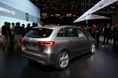 Mercedes-Benz запустил серийное производство MPV B-Class