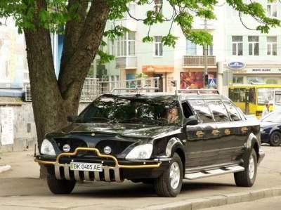 Так выглядит единственный лимузин, созданный в Украине