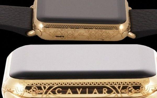 Caviar украсила Apple Watch 4 разными сортами «икры»