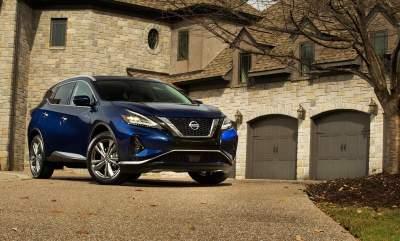 Nissan Murano получил стильное обновление