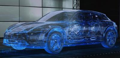 Электрокары Porsche начали тестировать на виртуальном Нюрбургринге