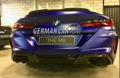 В Сети появились снимки флагманской версии BMW 8
