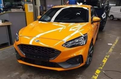 Ford Focus ST 2019 показался в сети