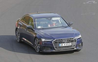 Фотошпионы показали Audi A6 без камуфляжа