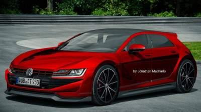Volkswagen впервые показала новый Golf